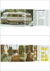 catalogue hymer s900 1983