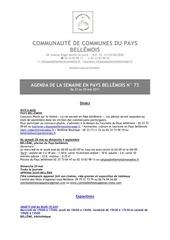 Fichier PDF agenda de la semaine en pays bellemois n 73
