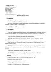 Fichier PDF cv lamy timothe