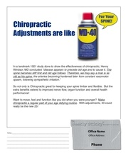 1 25 10 wd40 for your spine