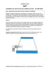 notice lit eau low cost