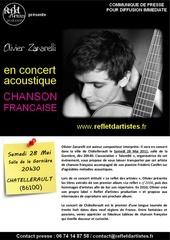 communique de presse de olivier zanarelli en concert a chatellerault