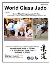 maje judo flyer