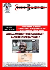 programme d urgence humanitaire cote d ivoire 1