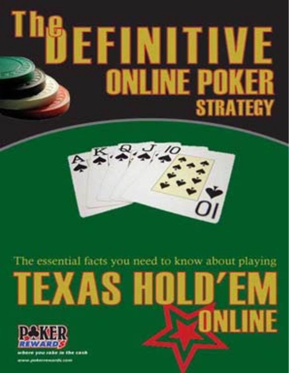 The Definite Online Poker Strategy Book (Poker Rewards).pdf - page 1/46