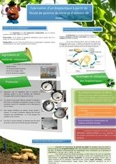 affiche projet tutore bioplastique