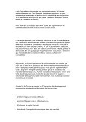 Fichier PDF document du g8 pour a tunisie