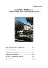 dossier de presse st remy fr 2011
