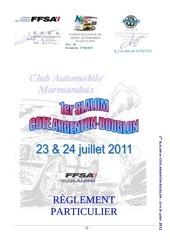 reglement slalom argenton bouglon 2011 pilotes