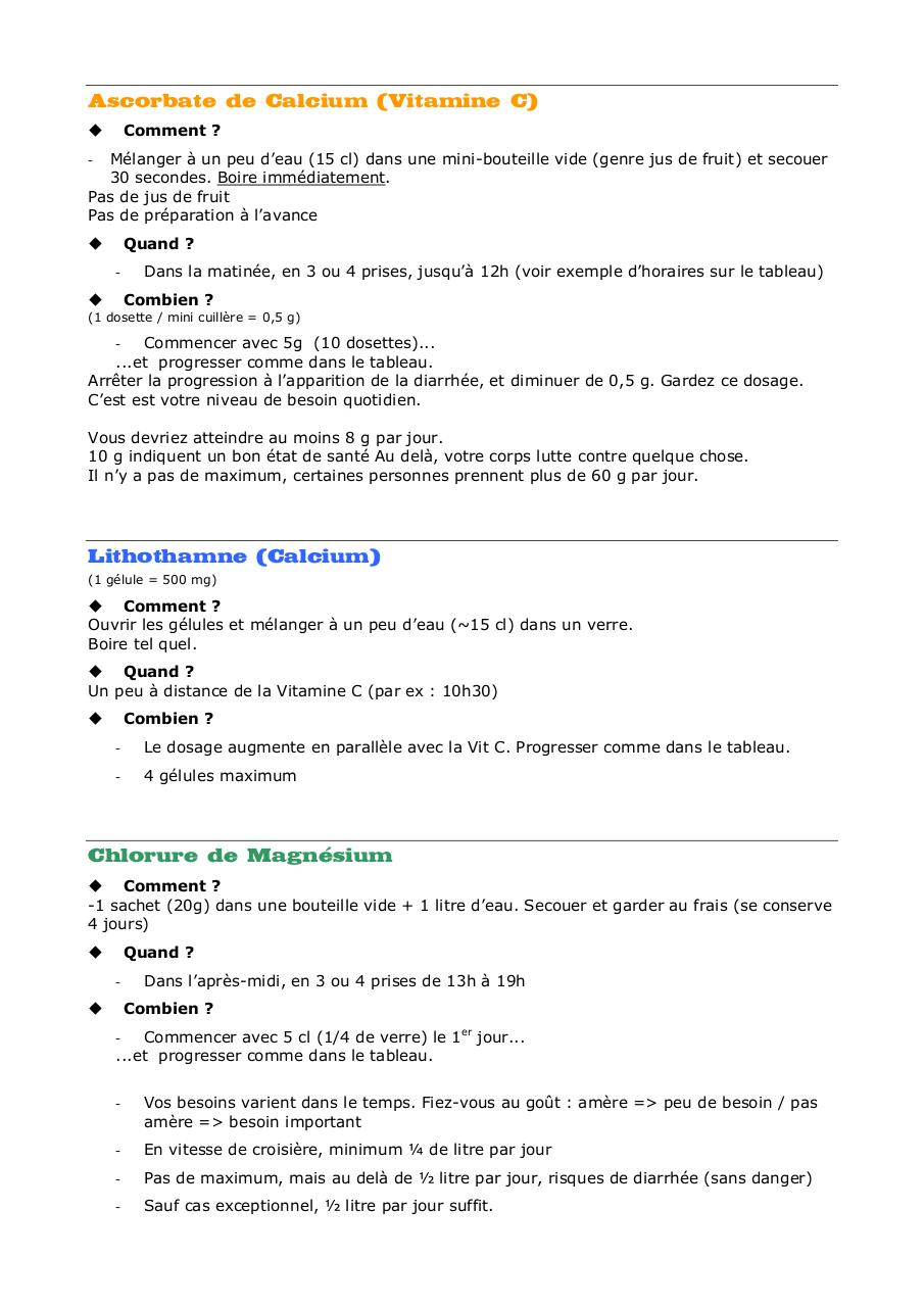 Aperçu du document VitC - Calcium - Mg.Fiche.pdf - page 1/2