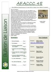 bulletin de liaison n 2 mai 2011