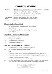 Fichier PDF cowboy motion