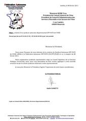 1 8 fevrier 2011 creation syndicat autonome spp pats de l oise