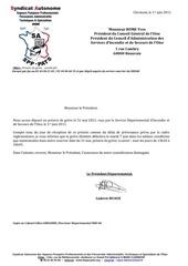 10 1 juin 2011 annexe preavis de greve