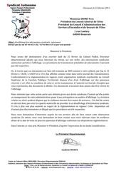2 23 fevrier 2011 desaffichage des informations syndicales autonomes