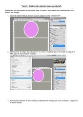 Fichier PDF inserer des photos dans un sketch