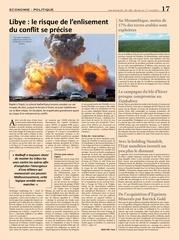 libye le risque de l enlisement du conflit se precise
