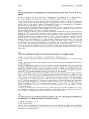 facteurs climatiques et developpement de la leishmaniose cutanee