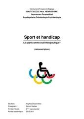 handicap et sports hughes daubechies