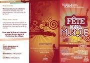 programme fete de la musique 2011