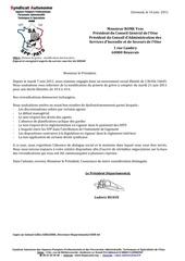 14 14 juin 2011 preavis de greve