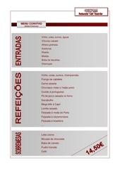 menu convivio