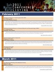 smw 2011conferencelisting