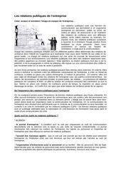 2011 06 20 les relations publiques de l entreprise
