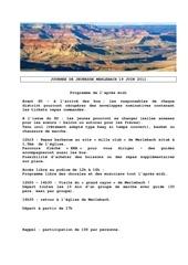 journee de jeunesse merlebach 19 juin 2011