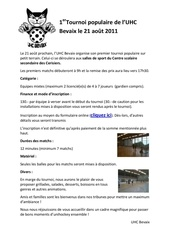 flyer populaire
