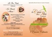 buffets menus et desserts de la case des iles