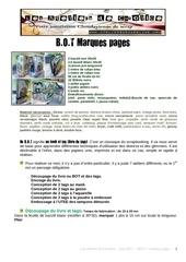 tuto livre de marques pages 1