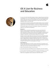 us os x lion for business and education us version