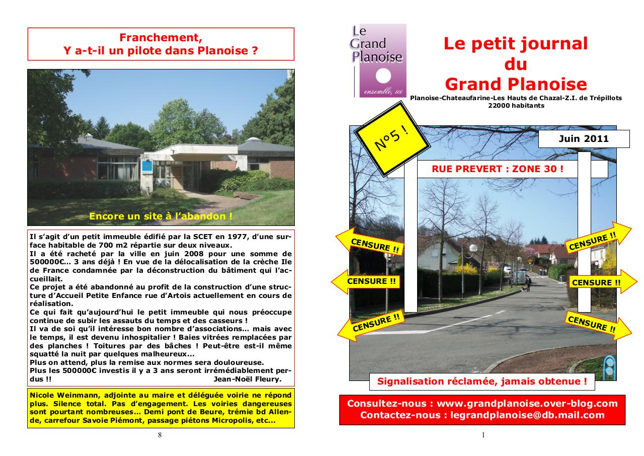 Le petit journal du Grand Planoise 5.pdf - page 1/4