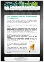 communique de presse aperitissimo pdf