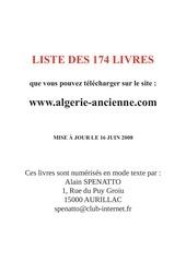 Fichier PDF 1 liste des livres