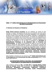international workshop for development and funding french pdf