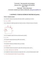 corrige bac technologique sciences physiques et physique appliquee 2011 stimeca