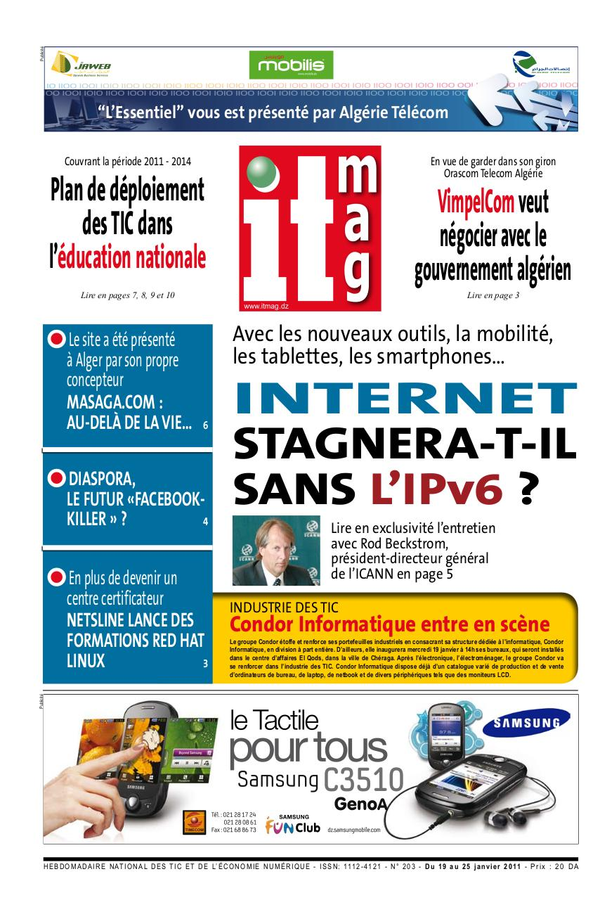 Aperçu du document IT MAG N° 203.pdf - page 1/16