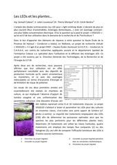 Fichier PDF les leds et les plantes