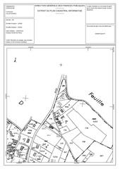 plan cadastral d 1760