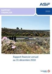 asf 2010 rapport financier annuel 28022011