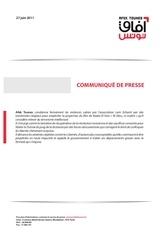 Fichier PDF afek tounes communiquedepress violences lam echaml vf