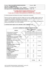 corrige bacpro comptabilite activites professionnelles de synthese 2011