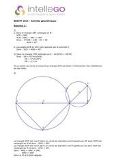Fichier PDF corrige brevet 2011 maths activites geometriques