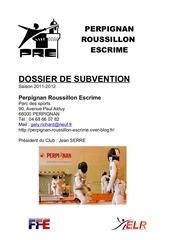 dossier subvention 2011 2012