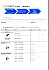 Fichier PDF bon de commande gen 1