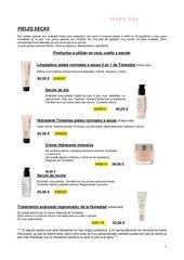 pieles y productos actualiz