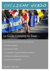 le guide complet du tour 2011