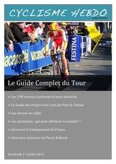guide complet du tour 2011